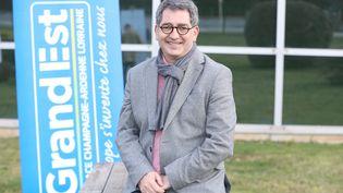 Jean Rottner, président de la région Grand Est, le 18 février 2021 (JEAN-FRAN?OIS FREY / MAXPPP)