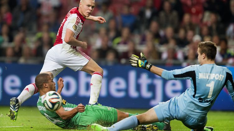 Kolbeinn Sigthorsson découvrira la Ligue 1 la saison prochaine. (OLAF KRAAK / ANP)