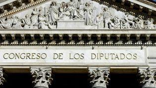 La Chambre des députés espagnole, en 2019, à Madrid. (LEEMAGE / AFP)