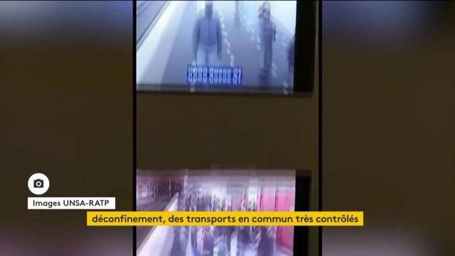 Déconfinement : les transports en commun sous haute surveillance