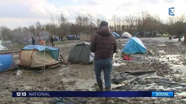 Migrants : le difficile quotidien dans le camp de Grande-Synthe
