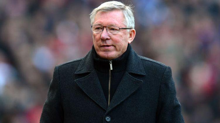 Sir Alex Ferguson, l'ex-manageur de Manchester United