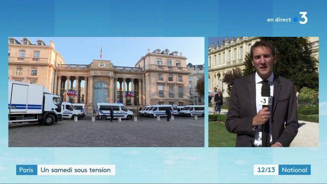 Journées du patrimoine : pas de heurts devant l'Assemblée nationale