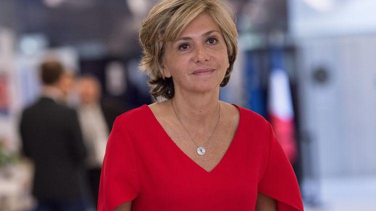 La présidente de la région Ile-de-France, Valérie Pécresse, le 16 mai 2017 à Paris. (JULIEN MATTIA / NURPHOTO / AFP)