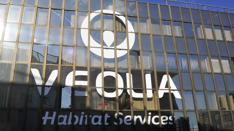Le siège de Véolia à Paris (SERGE ATTAL / ONLY FRANCE)