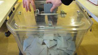 Premier tour des régionales 2010, le 14 mars, dans un bureau de vote de Pantin, en Seine-Saint-Denis. (CÉCILE QUÉGUINER)