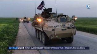 Les Américains ont renforcé leur présence en Syrie. (FRANCE 3)