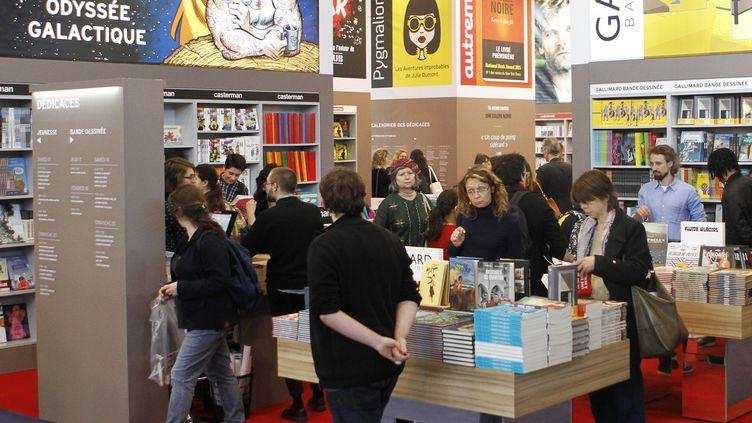Salon Livre Paris, mars 2017  (François Loock / AFP)