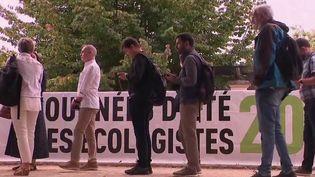 Politique : les candidats à la primaire écologiste réunis durant l'université d'été (France 2)