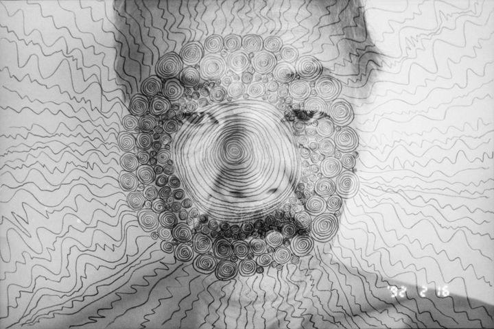 "Masahisa Fukase, ""Self-portrait"", 1992  (avec l'aimable autorisation de Masahisa Fukase Archives)"