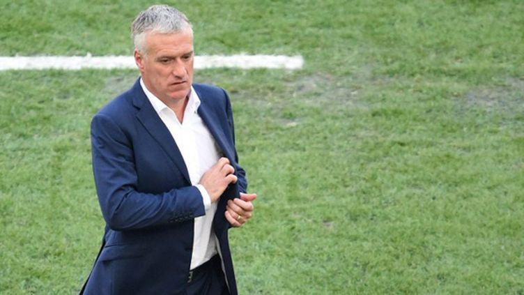 Didier Deschamps déçu après France-Allemagne (CHRISTOPHE SIMON / AFP)