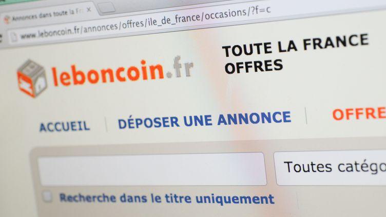 Photo d'illustration du site LeBonCoin.fr, le 7 janvier 2015. (MAXPPP)