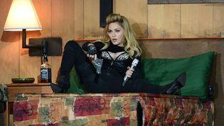 Madonna en concert à Hyde Park (Londres, 17 juillet 2012)  (Richard Young / Rex Fea/REX/SIPA)