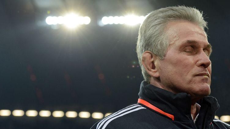 Jupp Heynckes quittera la Bavière en Juin. Il rejoindra peut-être Schalke 04. (CHRISTOF STACHE / AFP)