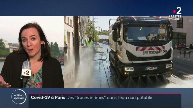 Paris : des traces de coronavirus dans le réseau d'eau non potable