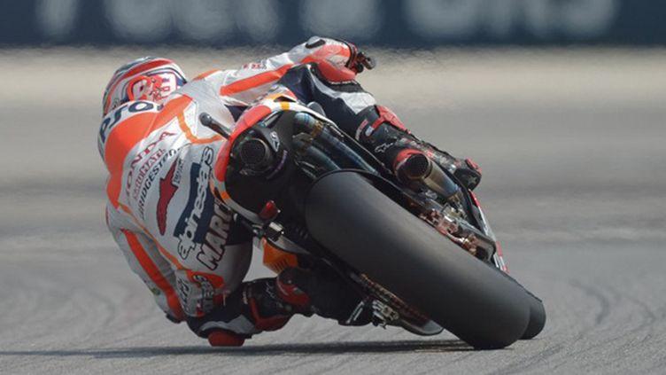 Marc Marquez (Honda) (MOHD RASFAN / AFP)