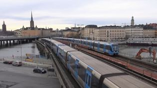 Des trains en Suède. (FRANCE 3)