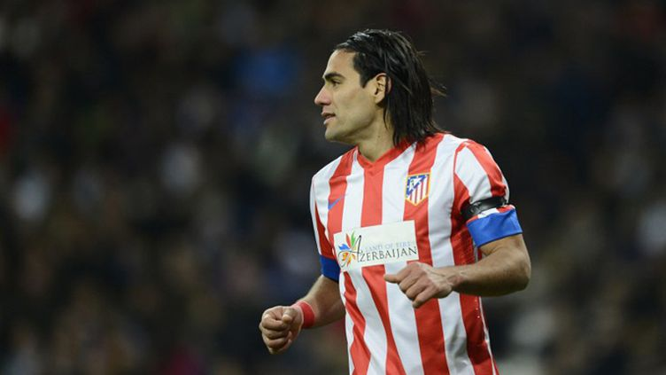 Falcao en action (Atletico Madrid) (PIERRE-PHILIPPE MARCOU / AFP)