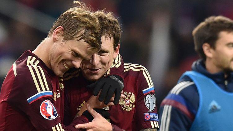 Les Russes ont validé leur billet pour l'Euro 2016 (KIRILL KUDRYAVTSEV / AFP)