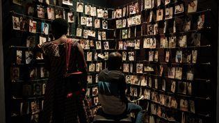 Le mémorial du génocide rwandais à Kigali. (YASUYOSHI CHIBA / AFP)