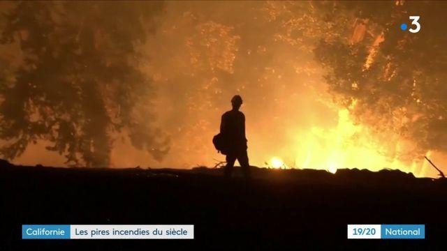 Incendies en Californie : sur place, le combat contre les flammes continue