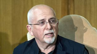 Peter Gabriel lors d'une conférence organisée au Vatican le 27 avril 2018  (Claudio Peri / Epa / Newscom / MaxPPP)
