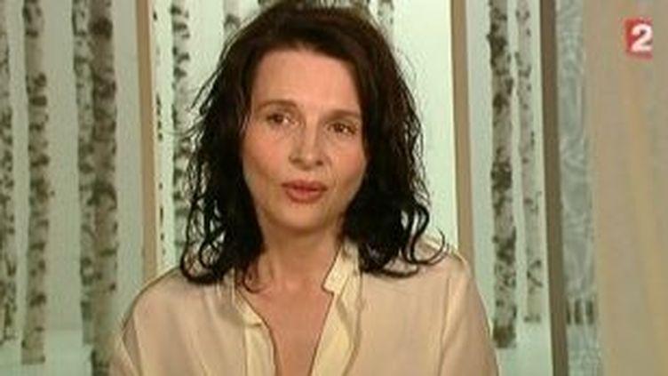 Juliette Binoche à l'affiche du 65e Festival d'Avignon dans Mademoiselle Julie  (Culturebox)