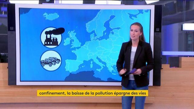 Confinement : la baisse de la pollution sauve des vies