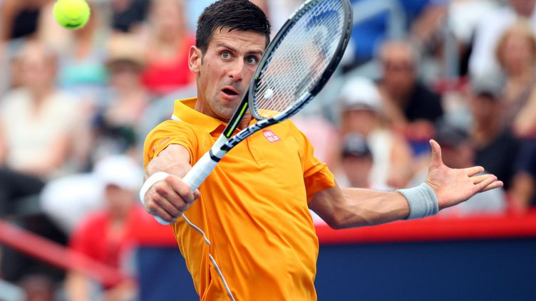 Le Serbe Novak Djokovic au tournoi de Montréal, le 15 août 2015. (USA TODAY SPORTS / REUTERS)