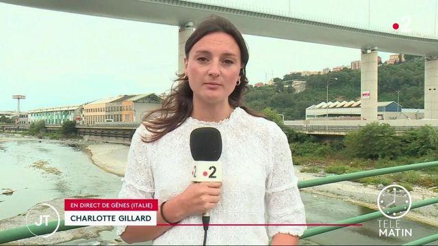 Italie : Gênes inaugure son nouveau pont