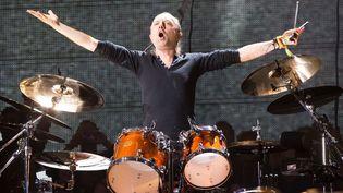 Lars Ulrich, le batteur de Metallica (Glastonbury Festival, Grande-Bretagne, 28 juin 2014)  (REX/REX/SIPA)