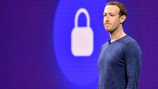 Mark Zuchenberg, la patron de Facebook à San José (Californie), le 1er mai 2018. (JOSH EDELSON / AFP)
