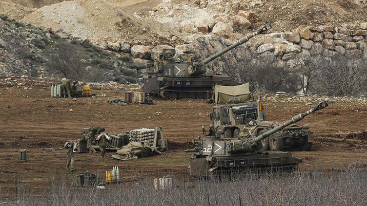 (La région est une zone de tension et des incidents ont régulièrement lieu le long de la Ligne bleue, qui fixe la frontière libano-israélienne © Maxppp)