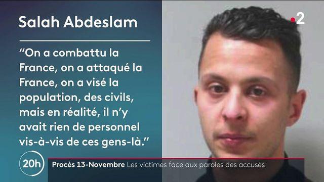 Procès du 13-Novembre : les victimes face aux paroles de Salah Abdeslam