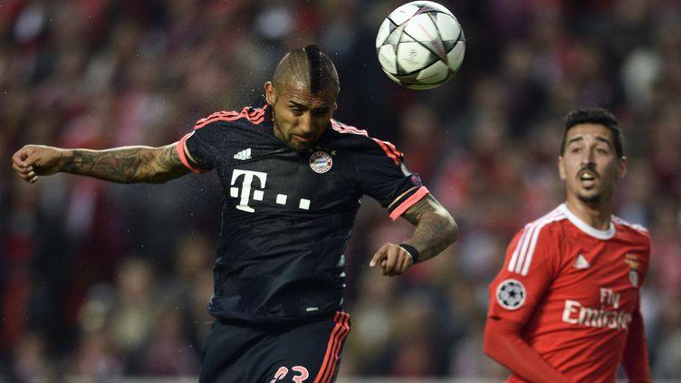 Le milieu de terrain chilien Arturo Vidal (Bayern Munich) (PATRICIA DE MELO MOREIRA / AFP)