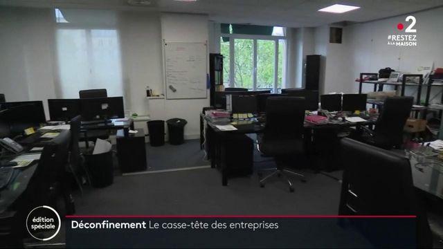 11 mai : les entreprises se préparent