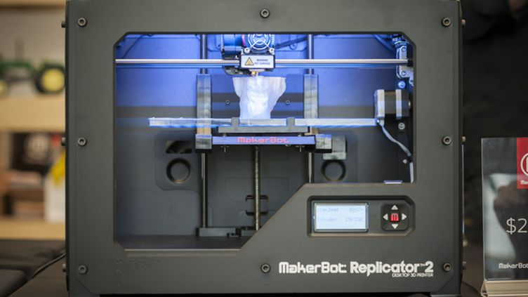 (Imprimante 3D © Maxppp)