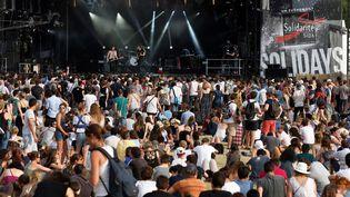 Le festival Solidays se tient à Paris du vendredi 22 au dimanche 24 juin 2018 (THOMAS SAMSON / AFP)