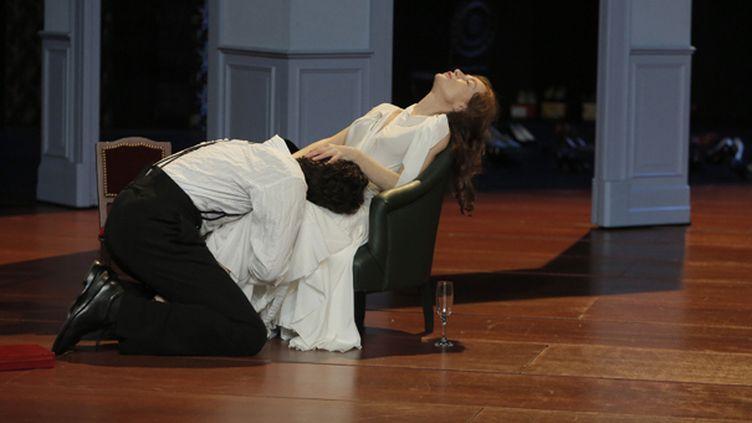 """""""Les Fausses confidences"""" : Louis Garrel, Isabelle Huppert  (Pascal Victor)"""