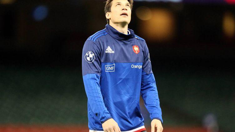François Trinh-Duc sous le maillot de l'équipe de France