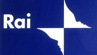 Lelogo de la Chaine de television nationale italienne RAI (LEEMAGE VIA AFP)