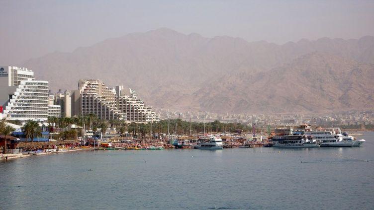 Eilat, une station balnéaire au bord de la mer Rouge en Israël, ici en février 2014. (JACK GUEZ / AFP)