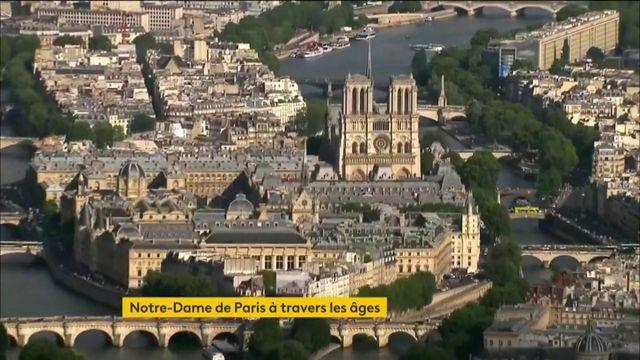 Notre-Dame de Paris à travers les âges