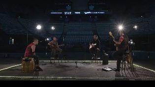 Tryo joue dans Bercy vide (Capture d'écran)