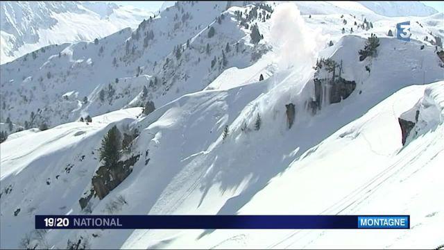 France 3 (19/20) - Montagne : des collégiens sensibilisés aux risques d'avalanche
