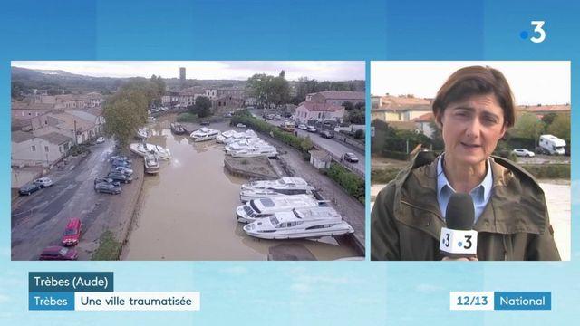 """Inondations dans l'Aude : """"les dégâts sont très impressionnants"""""""