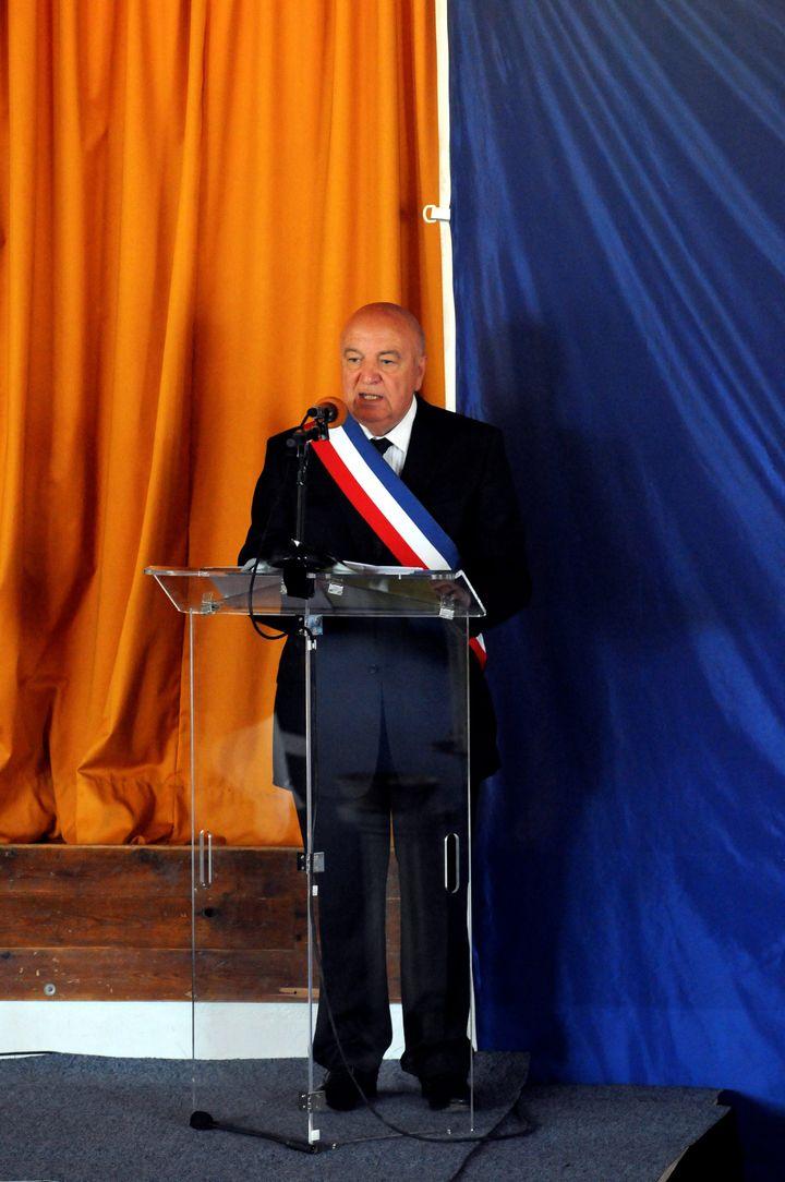 Le député Jean-Pierre Maggi, en juillet 2012, à Velaux (Bouches-du-Rhône). (  MAXPPP)