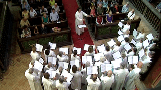 Le Bach Cantata Vespers Chorus à Strasbourg  (France 3)