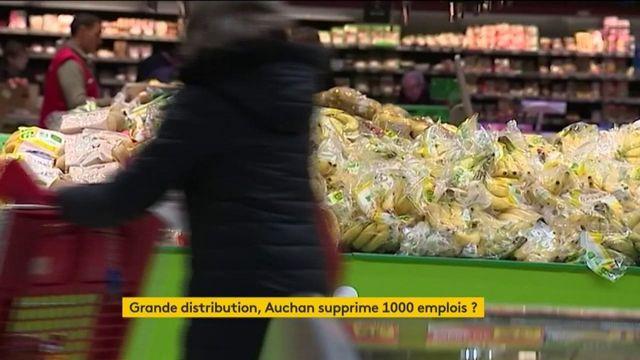 Grande distribution : Auchan supprime 1000 emplois ?