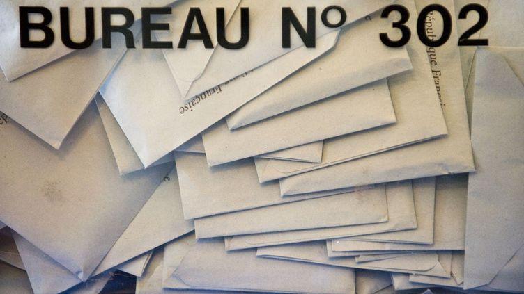 Avant les élections régionales des 20 et 27 juin 2021, franceinfo détaille, en collaboration avec les antennes régionales de France 3, les différentes listes candidates. (THIERRY ZOCCOLAN / AFP)